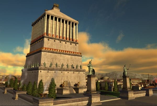 The Mausoleum at Halicarnassus, Turkey